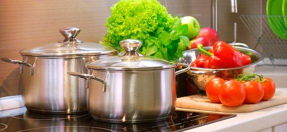 agua filtrada e tratada para cozinhar
