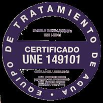 equipamento de tratamento de agua certificadi de descalcificacao
