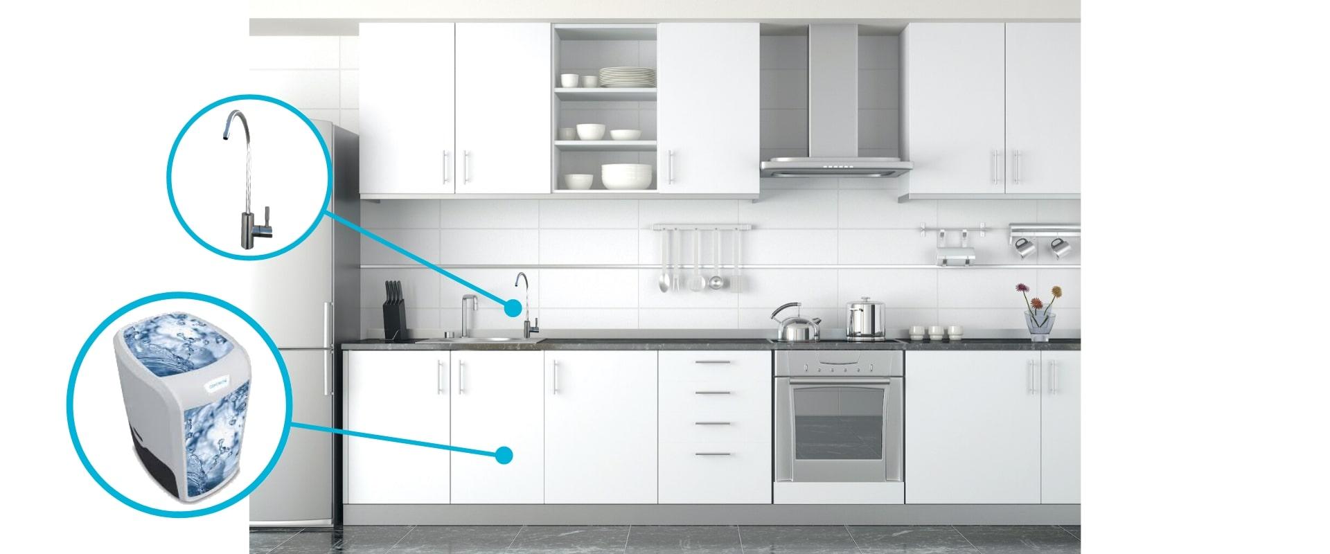 Osobasic-maquina-de-filtragem-de-agua-domestica da companhia
